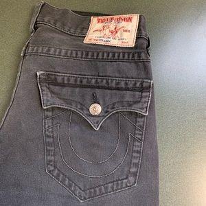 True Religion jeans grey 32 / 32 straight.